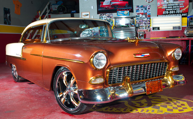 rides cars penny copper jarvis 1955 chevy chevrolet bel air