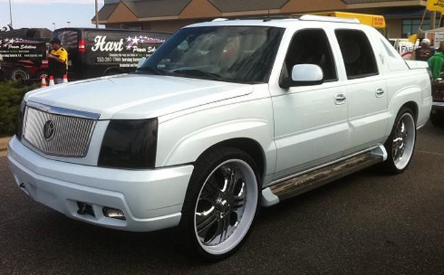 2003, Cadillac, Escalade, EXT, Custom, Rides