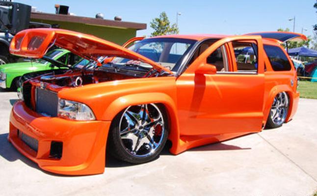 2000, Dodge, Durango, Custom, SLT, Rides