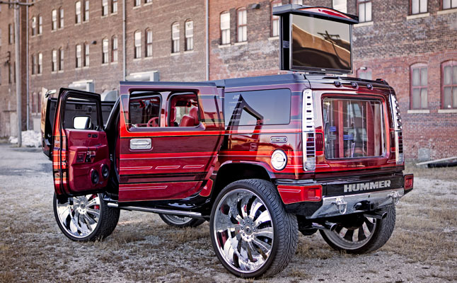 rides cars swift hummer h2 insane