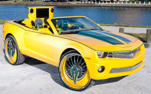 2011 Chevrolet Camaro Ss Rides Magazine