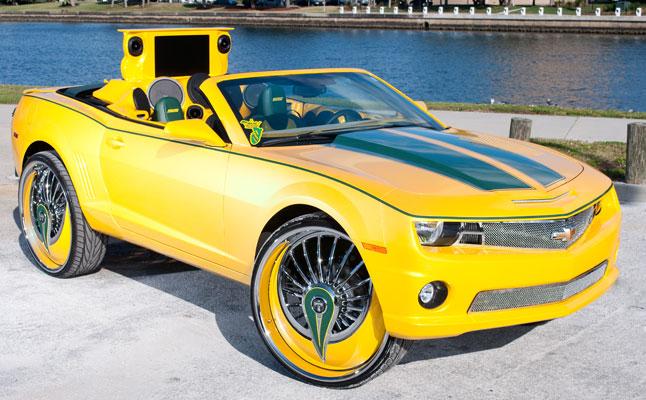 0-60 cars chevrolet chevy camaro ss yellow tampa vert convertible
