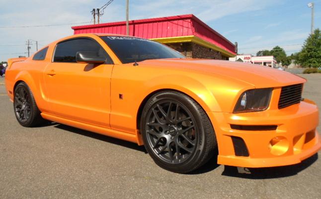 2011, Pontiac, Firebird, Forgiato, Rides