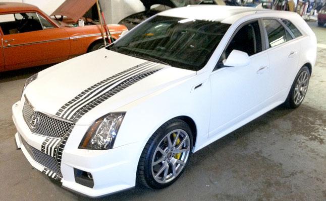 rides cars gumball 3000 mattemycar.com 3m graphics cadillac cts-v 2012