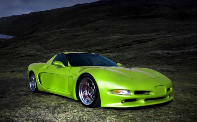 2004 rides wittera chevrolet corvette chevy green german c5 vette rims lambo doors