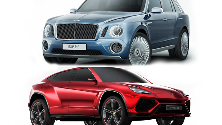rides cars bentley-exp-9-f-lamborghini-urus-featured