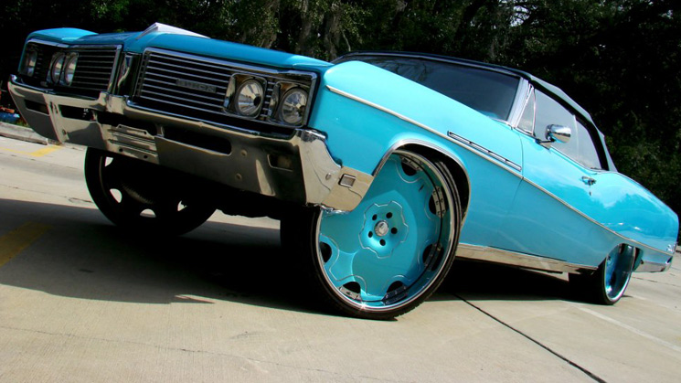 rides buick 225 electra box donk forgiato 26s wheels rims