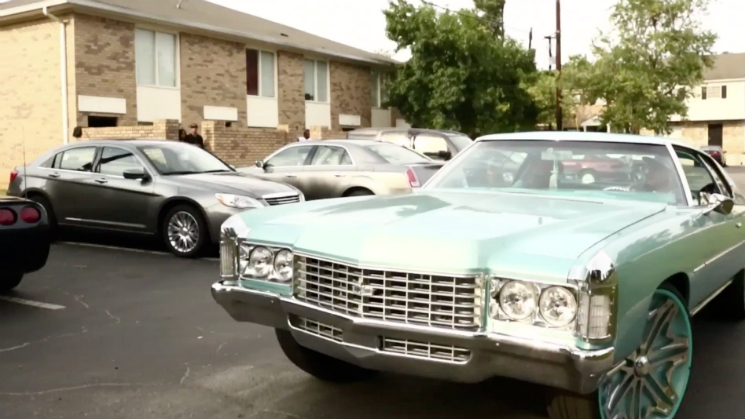 rides trinidad james chevy caprice oldsmobile cutlass supreme black blue all gold everything