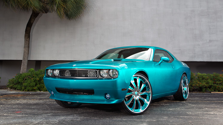 Dodge, Challenger, 2010, Rides, Custom, Justice League