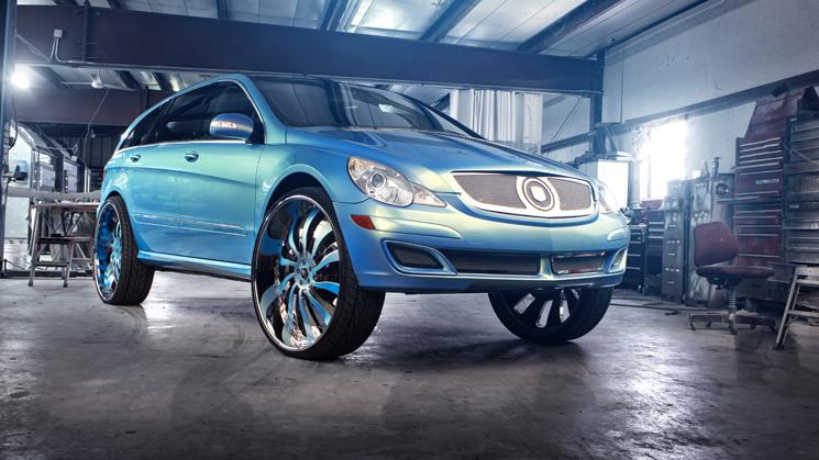 Mercedes-Benz, R500, Custom, Rides, Forgiato