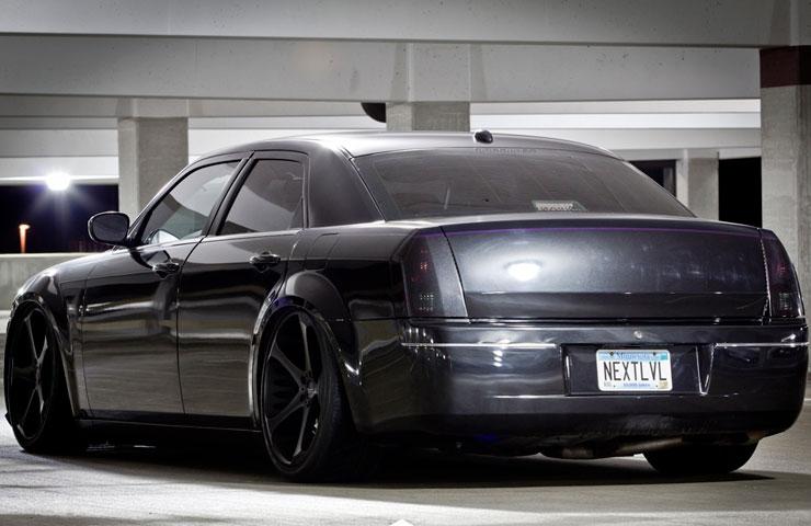 Chrysler 300 Slammed On Giovanna Dalar 5 Wheels Rides