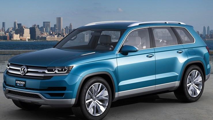 Volkswagen CrossBlue SUV Concept Detroit NAIAS Rides