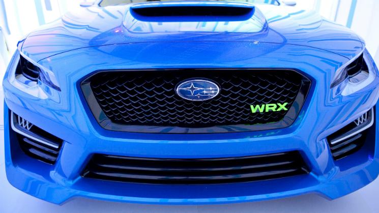 Subaru WRX Concept Car NY auto show RIDES