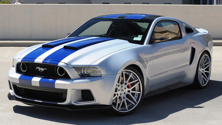 rides need for speed widebody ford mustang