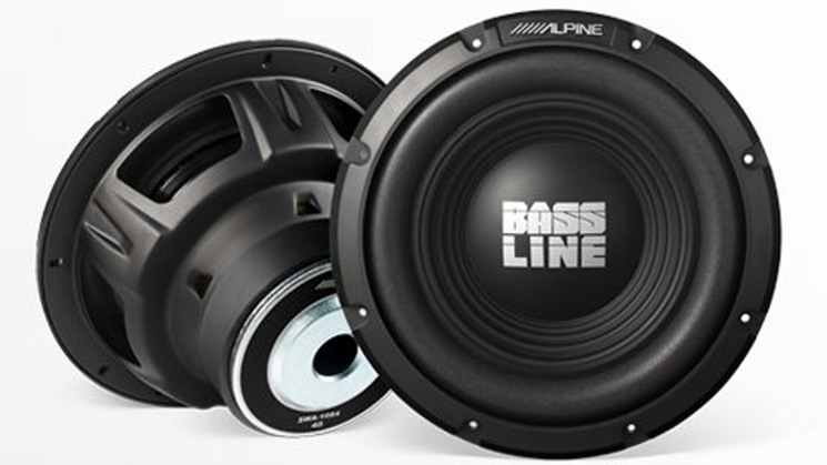 Alpine, bassline, far east movement, rides, subwoofer