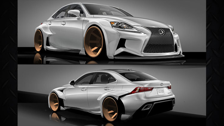 Lexus IS Sport Sedan SEMA rides deviantART