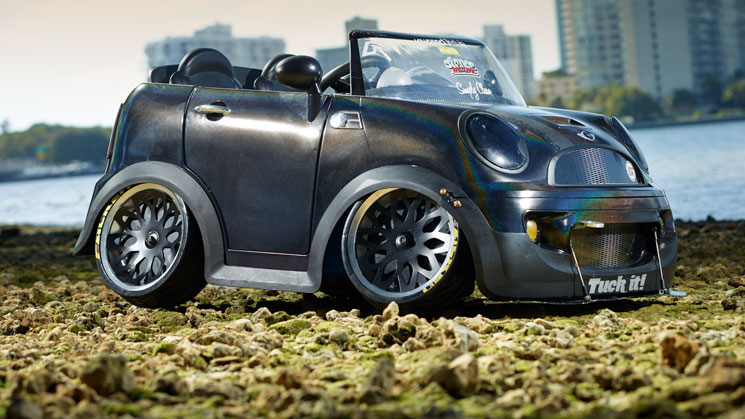 slammed laid out custom modified power wheels rides magazine