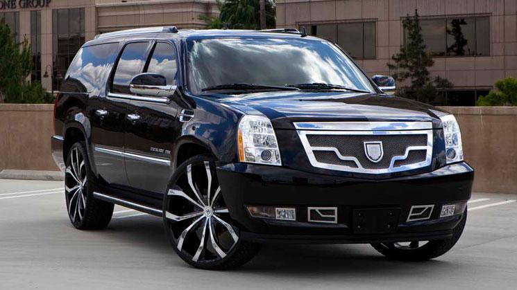 cadillac escalade esv lexani lust 26 inch rides magazine caddy luxury grille 26s