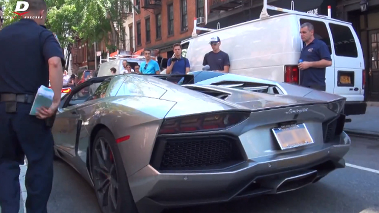 goldRush Rally, Lamborghini, New York