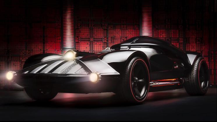 Hot Wheels, Comic-Con, Darth Vader, Star Wars