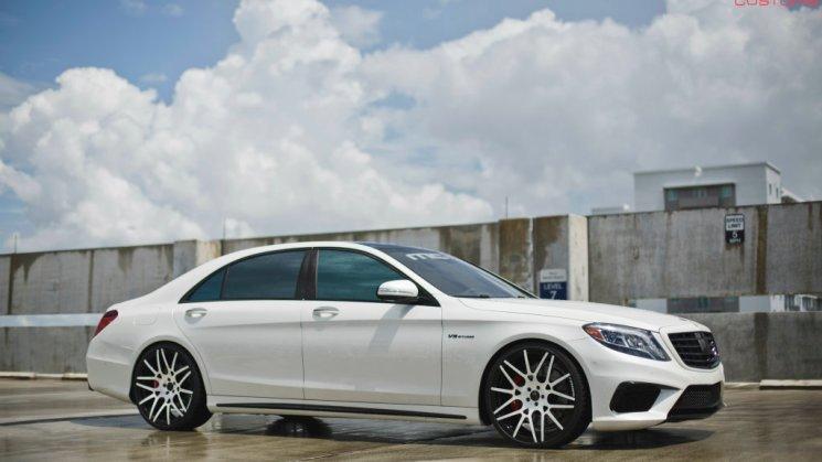 MC Customs | Francisco Liriano's Forgiato Wheels x Mercedes Benz S63 06R