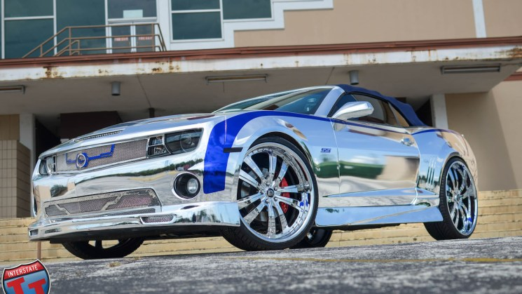Chrome Camaro 813 Customs Lexani Wheels 212