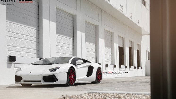 Lamborghini Aventador · Vellano Wheels 03R (3)