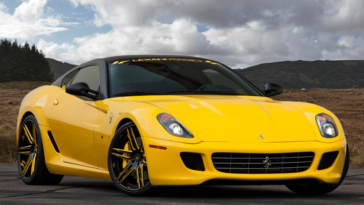 Ferrari 599 GTB Fiorano Lexani Forged Wheels LZ-107 1