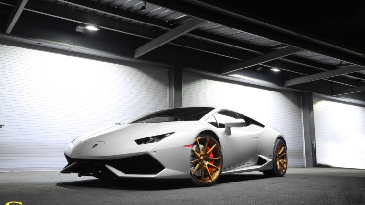 RDBLA Savini Wheels BM 12 Brushed Bronze Lamborghini Huracan copy  lores 6