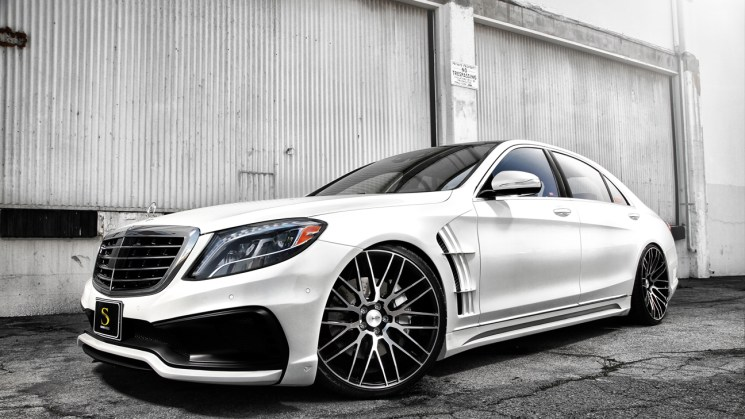 white-mercedes-benz-s550-wald-black-bison-savini-black-di-forza-bm13-machined-black-2