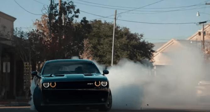 Challenger Drifting