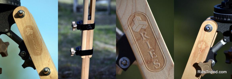 Ries J250 Head and J100-2 Tripod Eastern Hard Rock Maple