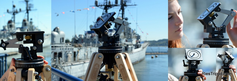 Ries J250 Head with USS Turner Joy
