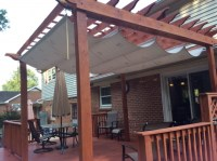 Pergola Waterproof Shade Cloth - Pergola Gazebo Ideas