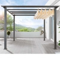 Retractable Shade Pergola - Pergola Gazebo Ideas