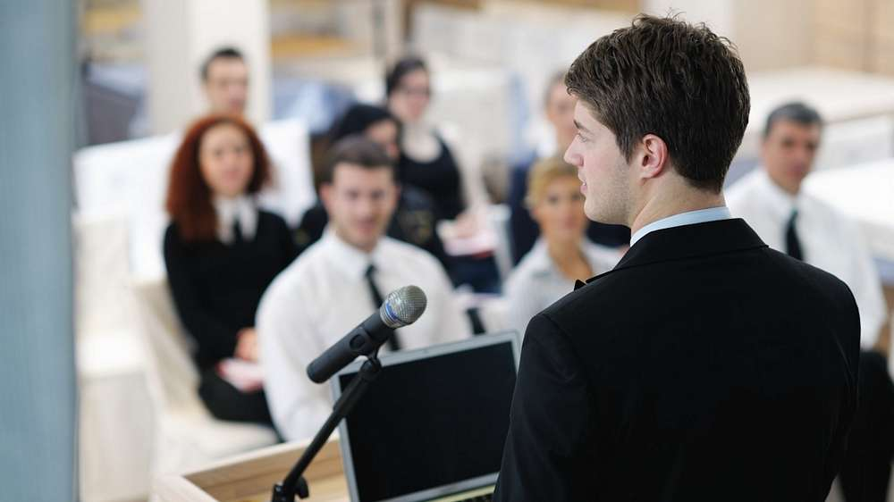Avoid the Lectern in Presentations