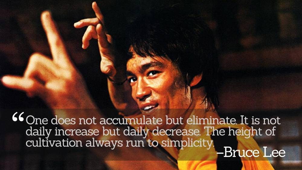 Inspirational Quotations by Bruce Lee