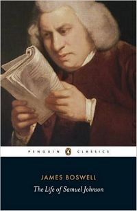 'The Life of Samuel Johnson' by James Boswell (ISBN 0140436626)