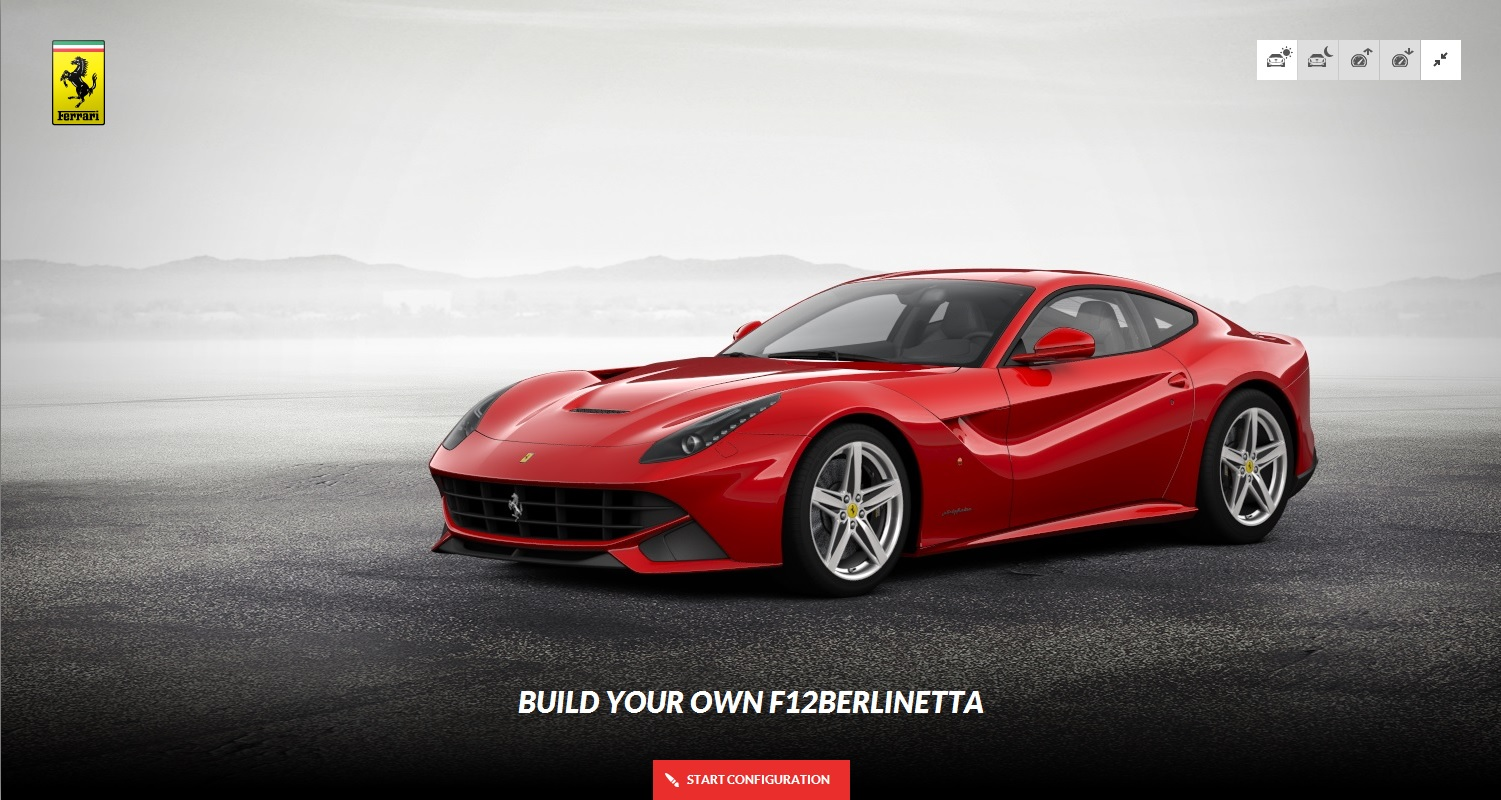build your own ferrari f12 berlinetta right foot down. Cars Review. Best American Auto & Cars Review