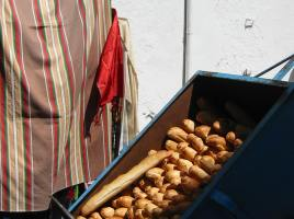 Bread in Tunis