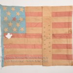 Lincoln and Hamlin Flag