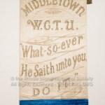 Middletown W.C.T.U. Banner