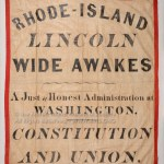 Rhode Island Lincoln Wide Awakes Banner