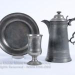 Liberty Baptist Church, Exeter, R.I. Communion Flagon, Chalice and Dish