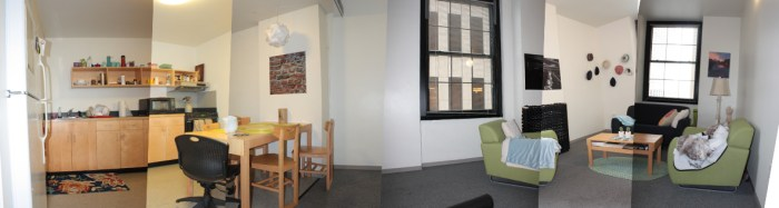 Kitchen and Common Room
