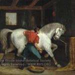 Governor Sprague's White Horse, 1869