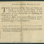 Providence, R.I.: John Carter, 1770