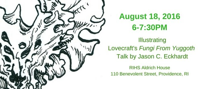 RIHS Talk and Walk to Mark H.P. Lovecraft's Birthday