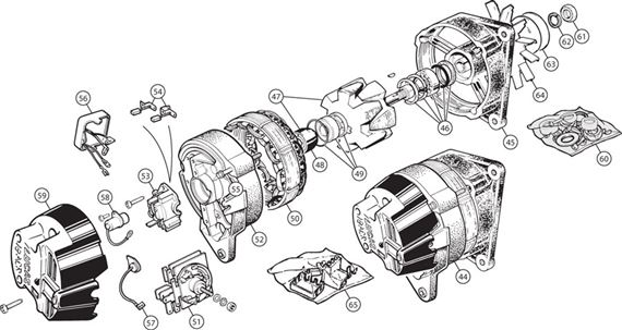 lucas alternator wiring diagram muenchausen39s garage