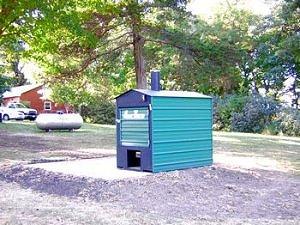 External Wood Boiler